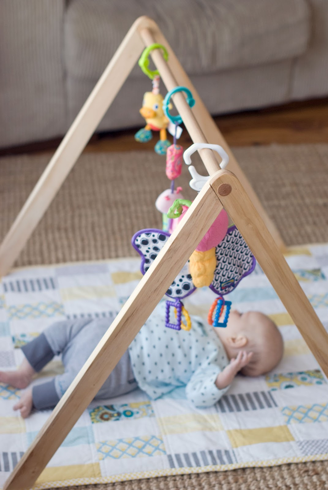 Best ideas about DIY Baby Gym . Save or Pin Empty Handed Wooden Baby Gym TUTORIAL NOW AVAILABLE Now.