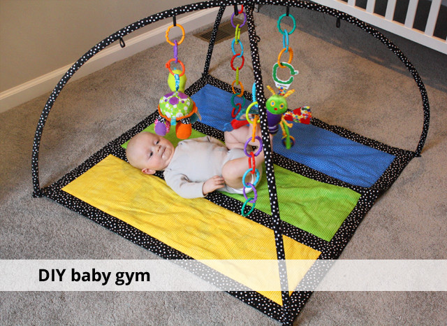 Best ideas about DIY Baby Gym . Save or Pin DIY baby gym rachel swartley Now.