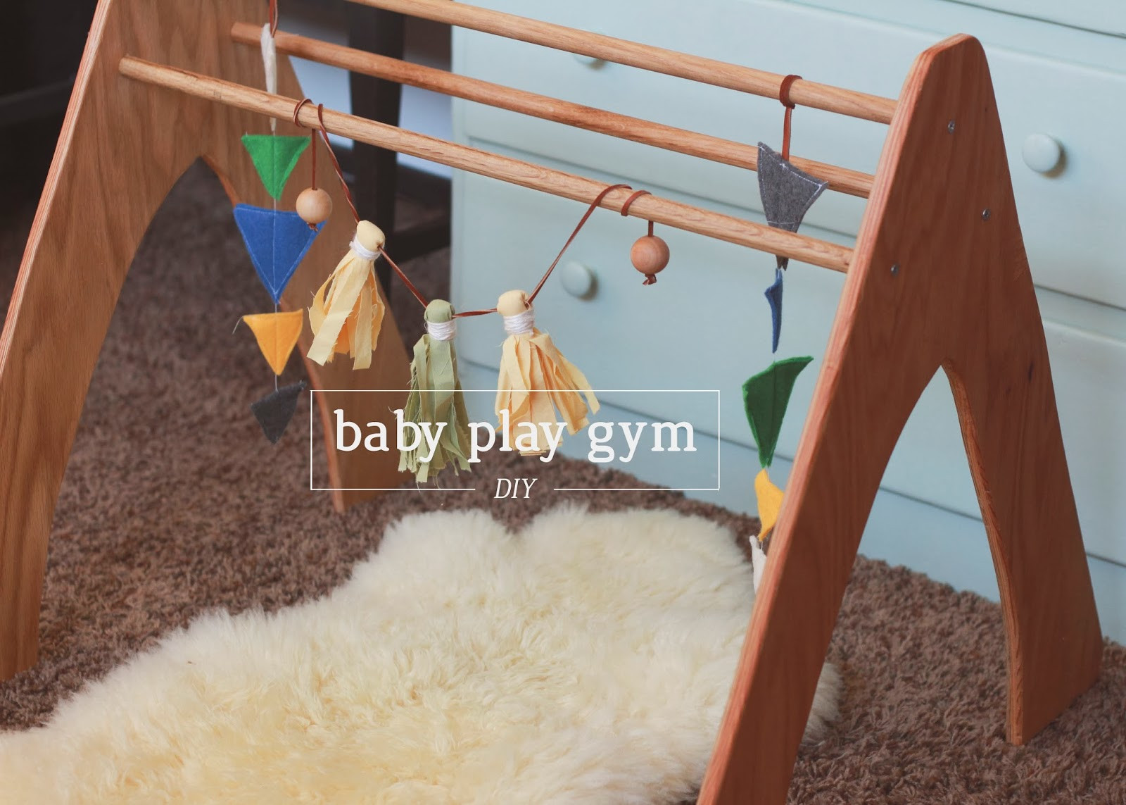 Best ideas about DIY Baby Gym . Save or Pin Nerd and Healthnut DIY Wooden Play Gym Now.