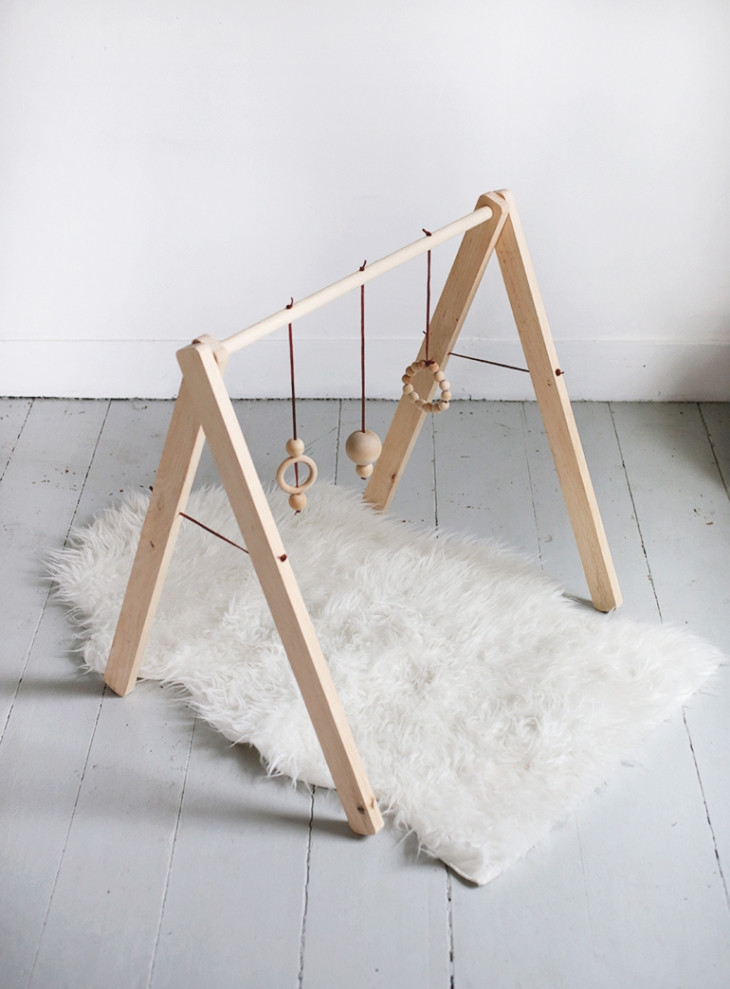 Best ideas about DIY Baby Gym . Save or Pin DIY Wooden Baby Gym The Merrythought Now.