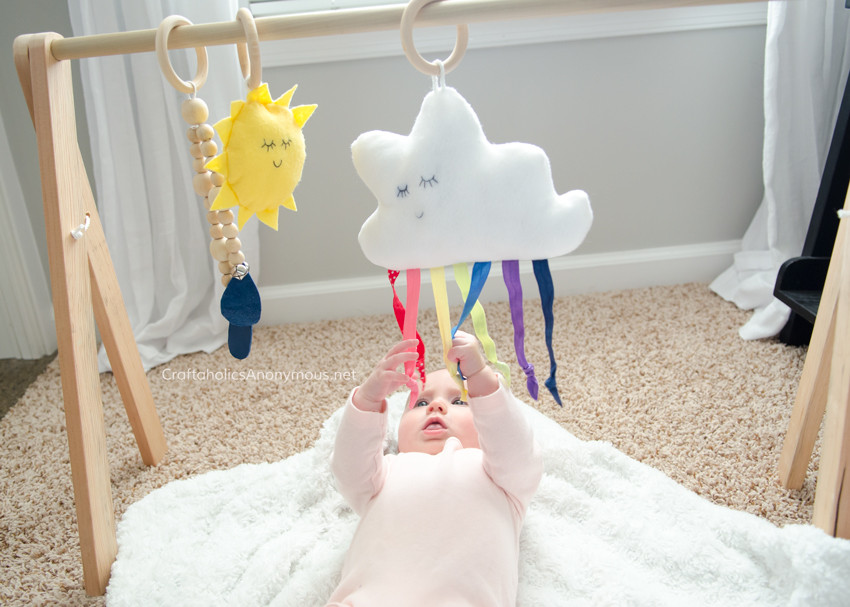 Best ideas about DIY Baby Gym . Save or Pin Craftaholics Anonymous Now.