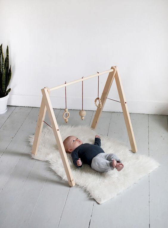 Best ideas about DIY Baby Gym . Save or Pin DIY Wooden Baby gym Fun Crafts Kids Now.