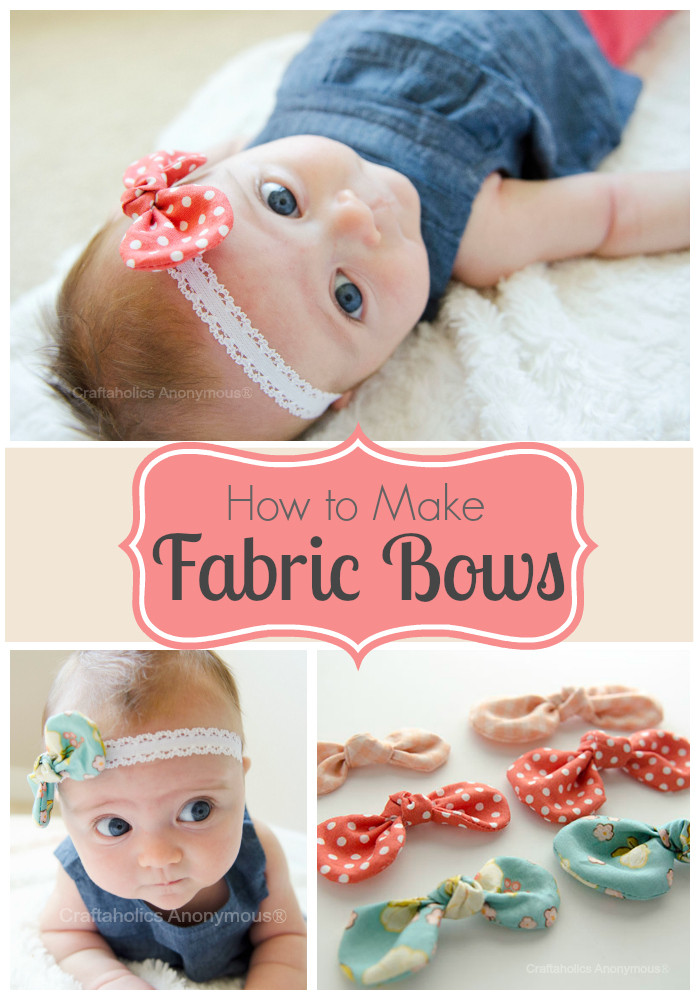 Best ideas about DIY Baby Hair Bows . Save or Pin 40 Fun DIY Bow Crafts to Make at Home Now.