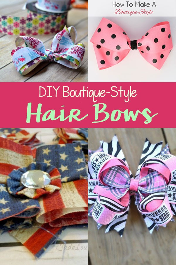 Best ideas about DIY Baby Hair Bows . Save or Pin DIY Boutique Style Hair Bows Now.