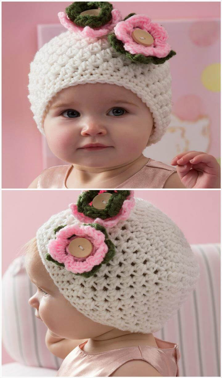 Best ideas about DIY Baby Hats . Save or Pin Crochet Baby Hats 50 Free Crochet Hat Patterns DIY Now.
