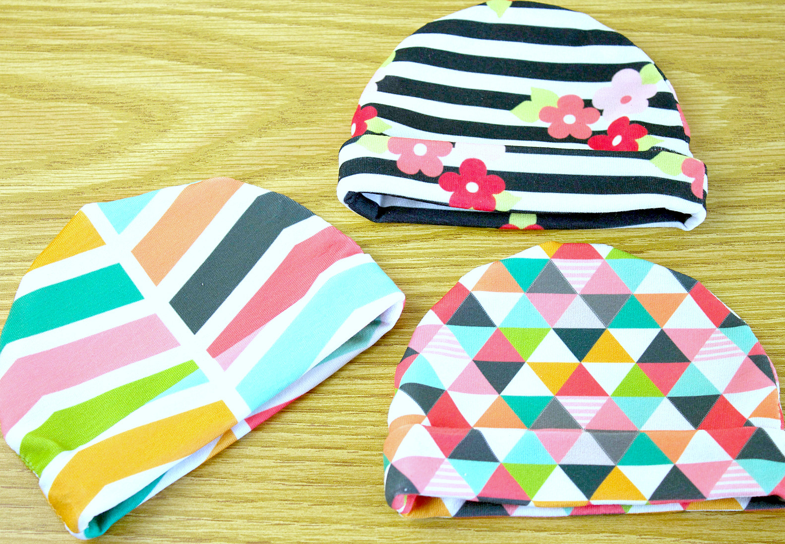 Best ideas about DIY Baby Hats . Save or Pin Jersey Baby Hat Tutorial Now.