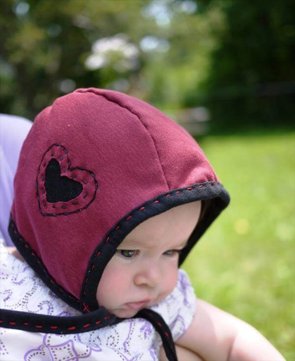 Best ideas about DIY Baby Hats . Save or Pin Jersey & T Shirt Hat Projects for kids Now.