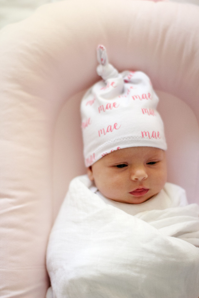 Best ideas about DIY Baby Hats . Save or Pin DIY knotted baby hat DockATot giveaway see kate sew Now.