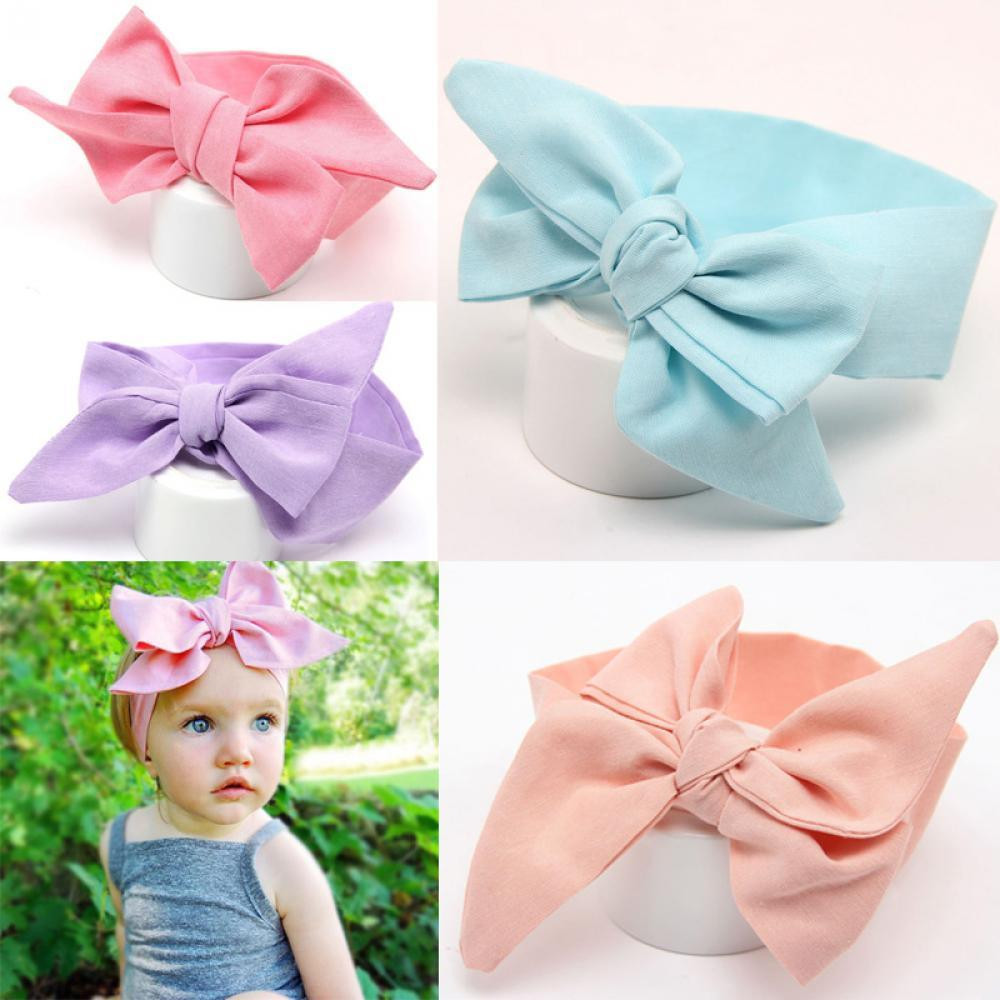 Best ideas about DIY Baby Head Wraps . Save or Pin Bow DIY Turban Knot Hair Band Baby Head Wrap Headband Now.