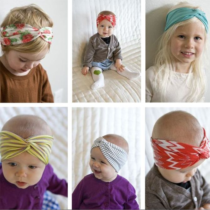 Best ideas about DIY Baby Head Wraps . Save or Pin Super cute baby head wraps baby nerney Now.