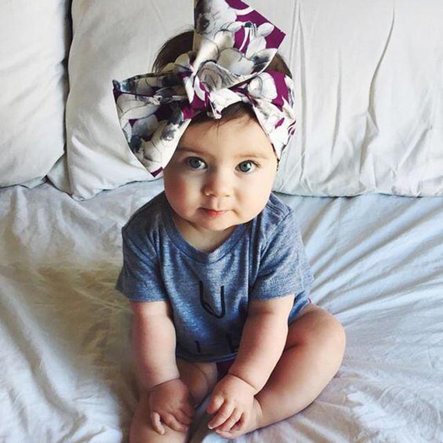 Best ideas about DIY Baby Head Wraps . Save or Pin Aliexpress Buy Girls Turban Headband Children Kids Now.