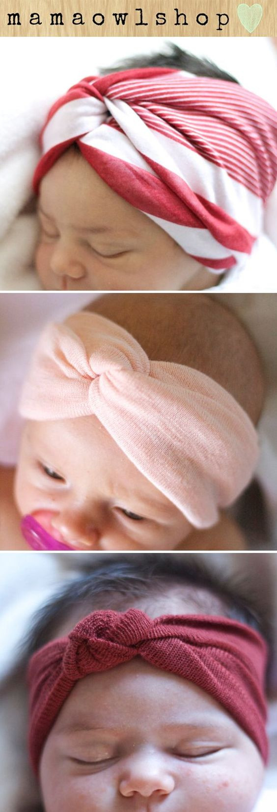 Best ideas about DIY Baby Head Wraps . Save or Pin 1000 ideas about Baby Turban on Pinterest Now.
