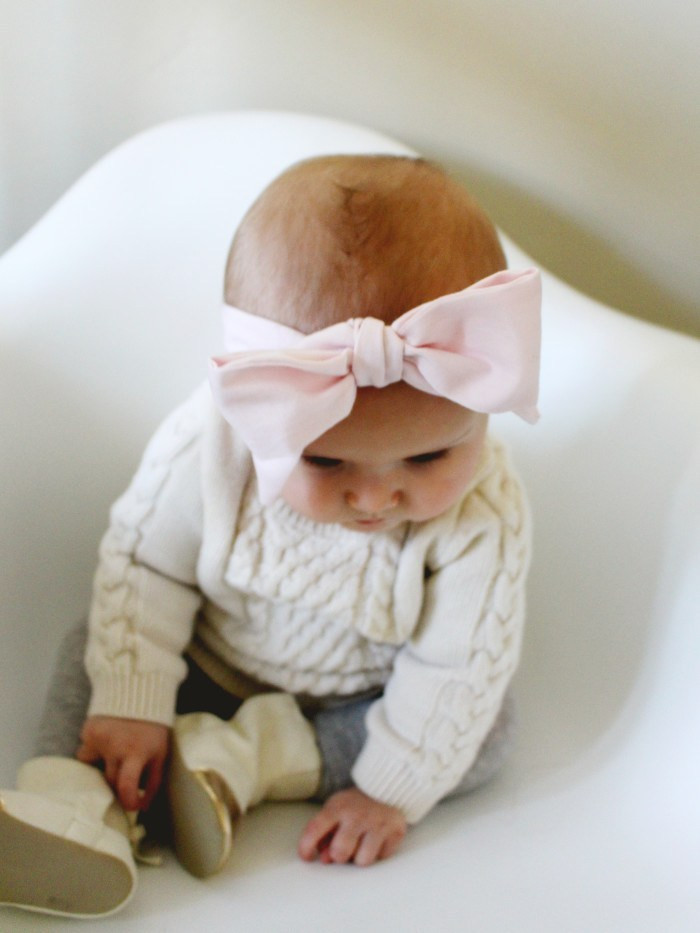 Best ideas about DIY Baby Head Wraps . Save or Pin DIY Baby Oversized Bow Headwraps Now.