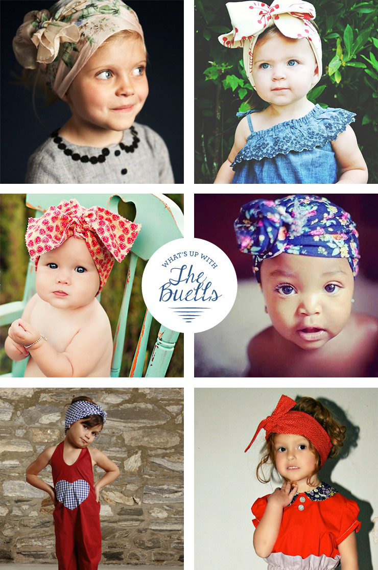 Best ideas about DIY Baby Head Wraps . Save or Pin What s Up with The Buells LITTLE GIRL HEAD WRAP TUTORIAL Now.