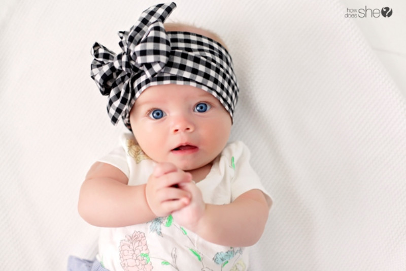 Best ideas about DIY Baby Head Wraps . Save or Pin Adorable DIY Fabric Head Tie For Your Kids Now.