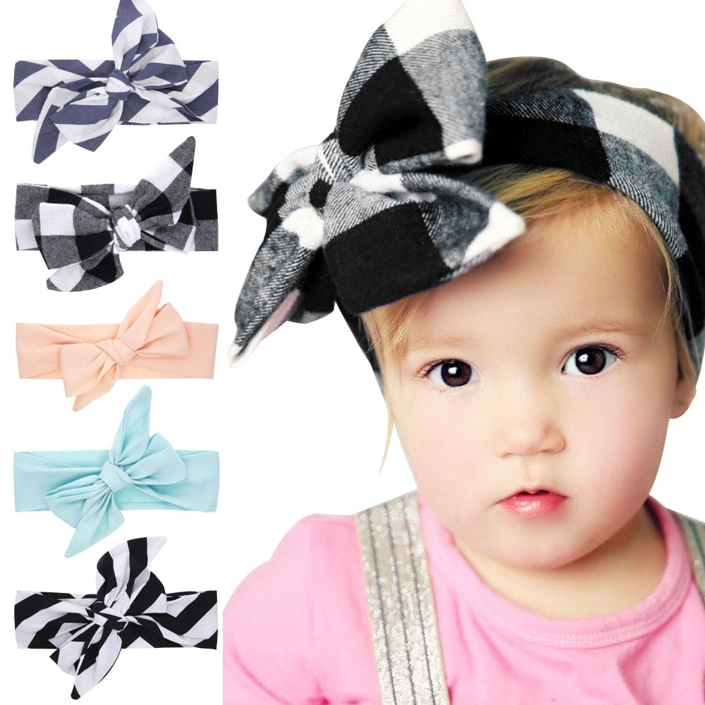 Best ideas about DIY Baby Head Wraps . Save or Pin Littlge girls Big Bow Headwraps DIY Turban Tie Kids Summer Now.