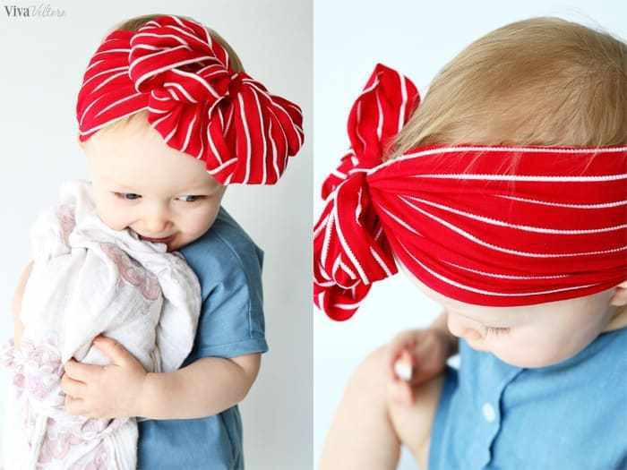Best ideas about DIY Baby Headbands No Sew . Save or Pin How to Make Baby Headbands Without Sewing Viva Veltoro Now.