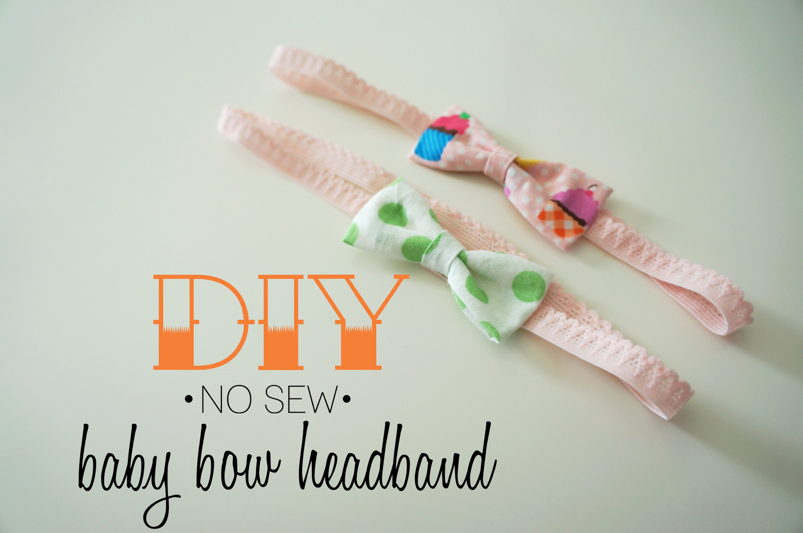 Best ideas about DIY Baby Headbands No Sew . Save or Pin Hello Kelcey DIY No Sew Baby Bow Headband Now.