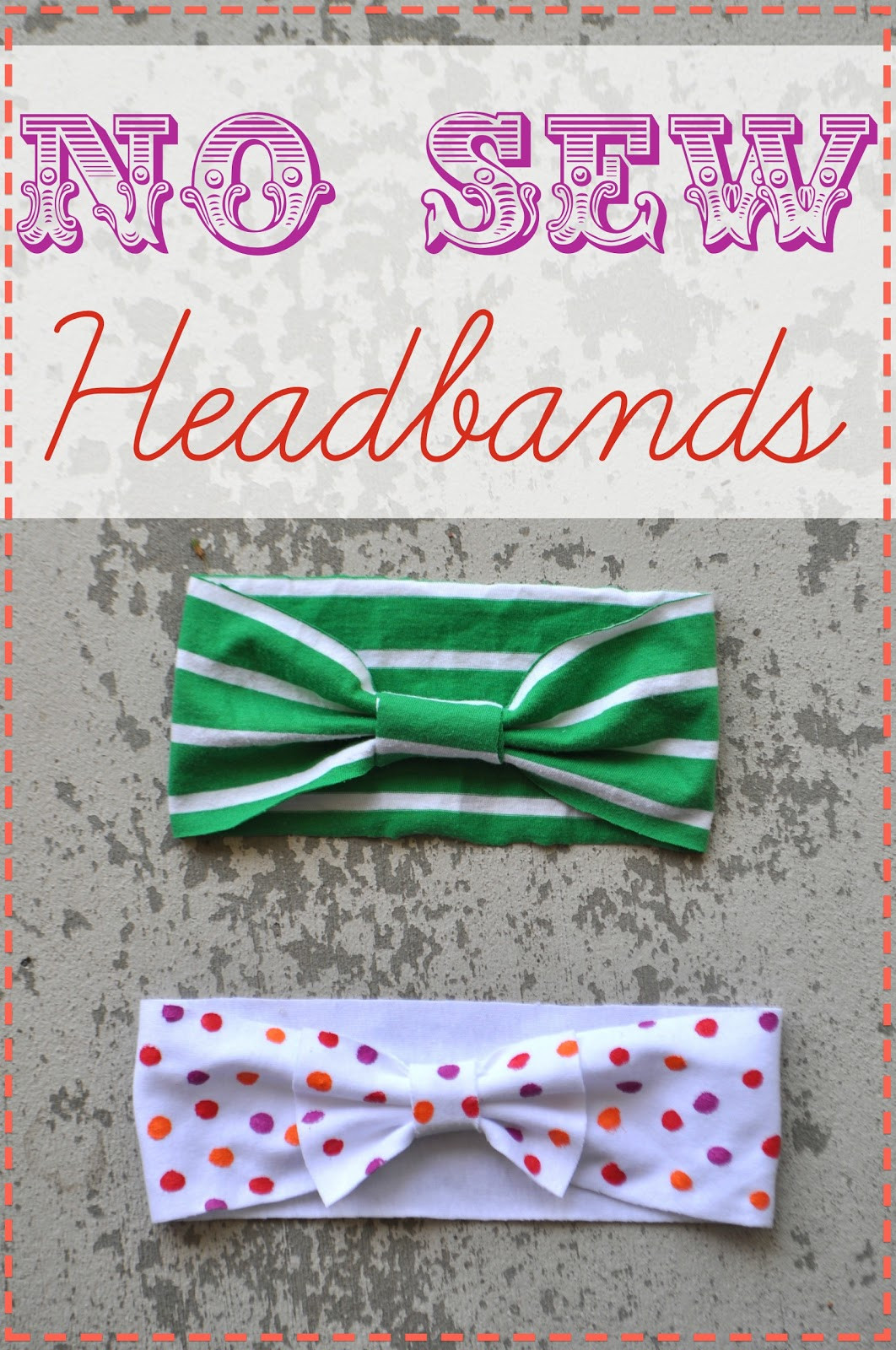 Best ideas about DIY Baby Headbands No Sew . Save or Pin I Am Momma Hear Me Roar No Sew Headbands Now.
