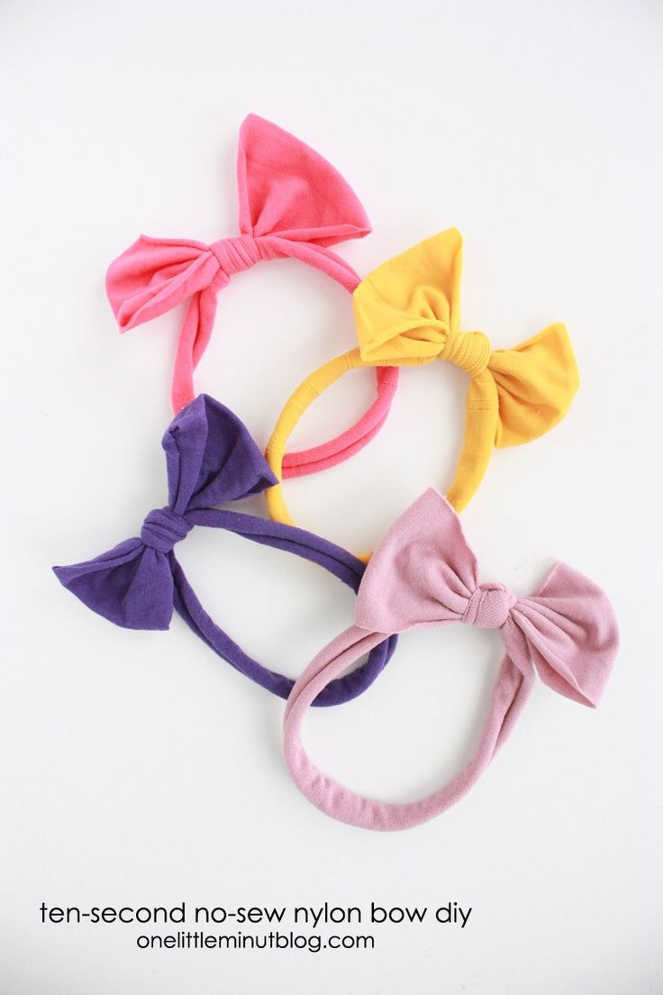 Best ideas about DIY Baby Headbands No Sew . Save or Pin Best 25 No sew bow ideas on Pinterest Now.