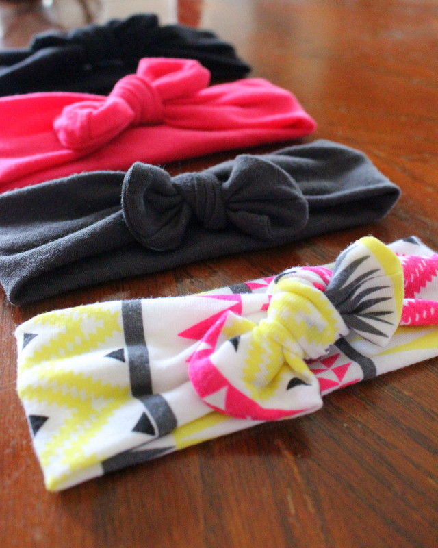 Best ideas about DIY Baby Headbands No Sew . Save or Pin Married to Davis DIY No Sew Knot Headband Now.