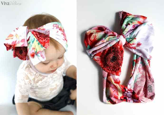 Best ideas about DIY Baby Headbands No Sew . Save or Pin 10 Minute DIY No Sew Baby Headband Viva Veltoro Now.