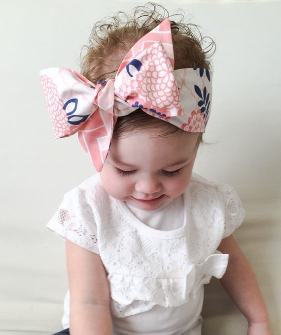 Best ideas about DIY Baby Headwrap . Save or Pin Items similar to Baby Headwrap Baby Head Wrap Coral Now.