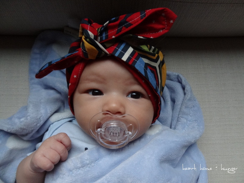 Best ideas about DIY Baby Headwrap . Save or Pin Wanna make a rockabilly head scarf for your baby Here s Now.