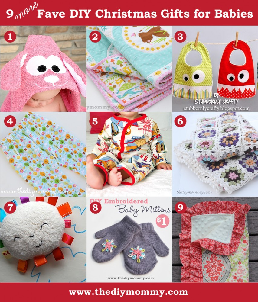 Best ideas about DIY Baby Ideas . Save or Pin A Handmade Christmas More DIY Baby Gifts Now.
