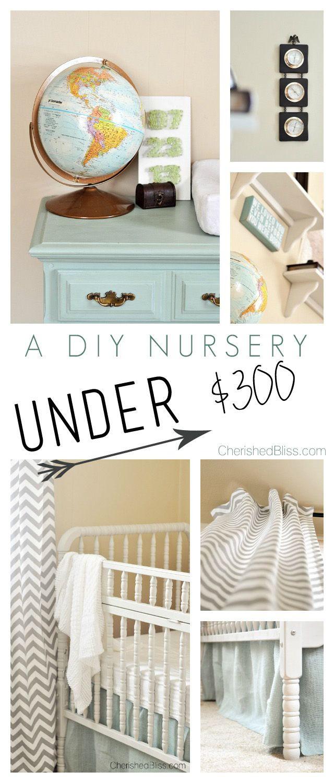 Best ideas about DIY Baby Nurseries . Save or Pin DIY Nursery on a Bud Now.