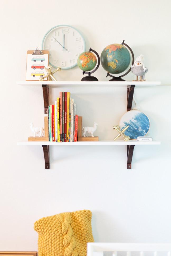 Best ideas about DIY Baby Nurseries . Save or Pin Easy DIY Baby Nursery Shelves Now.