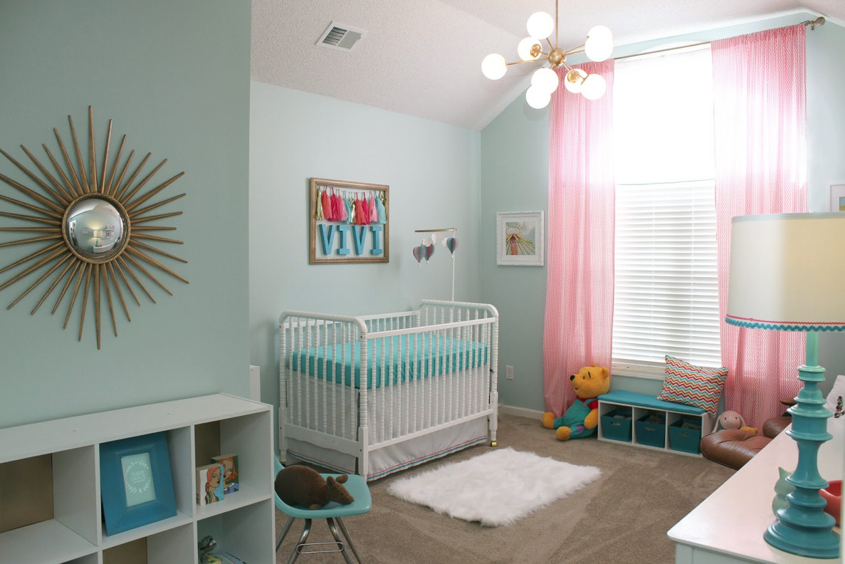 Best ideas about DIY Baby Nursery . Save or Pin DIY POST MOD BABY NURSERY Oh So Lovely Blog Now.