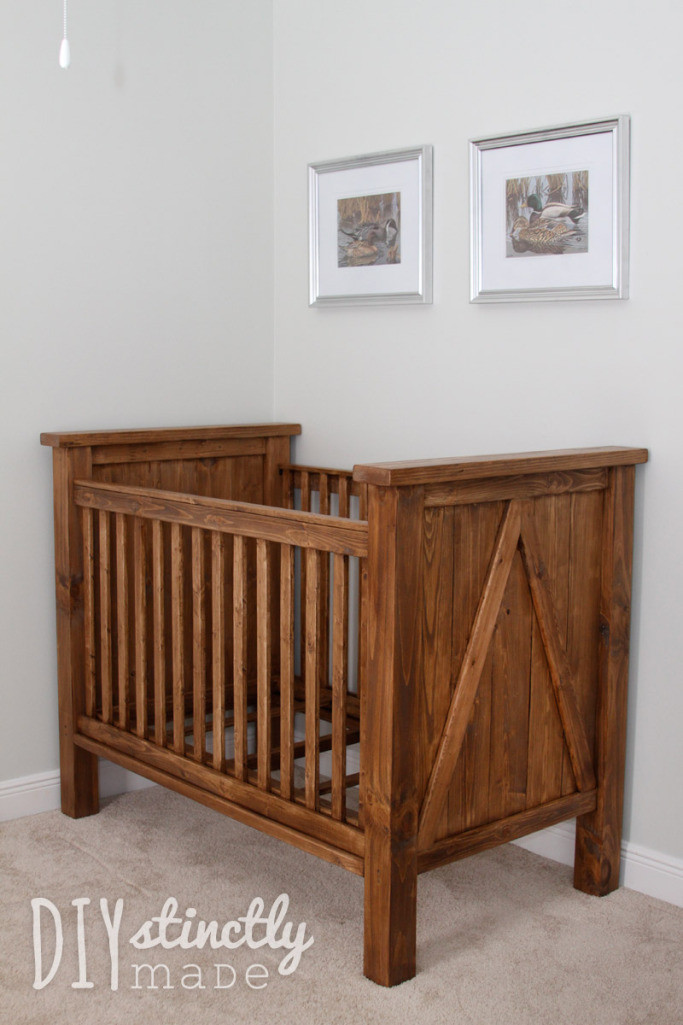 Best ideas about DIY Baby Nursery . Save or Pin DIY Crib – DIYstinctly Made Now.