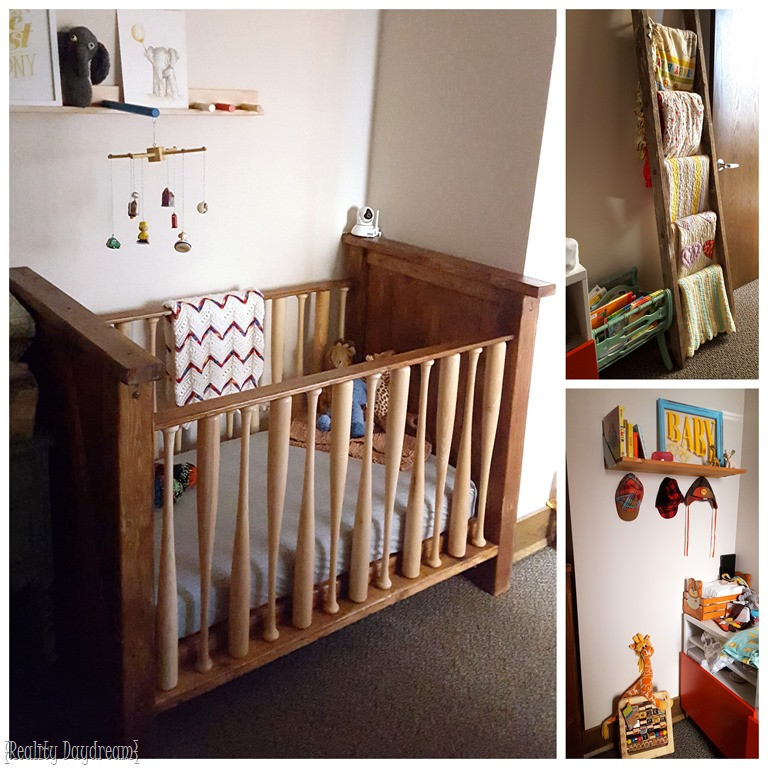 Best ideas about DIY Baby Nursery . Save or Pin Baseball Bat Crib Tutorial and building plans Reality Now.
