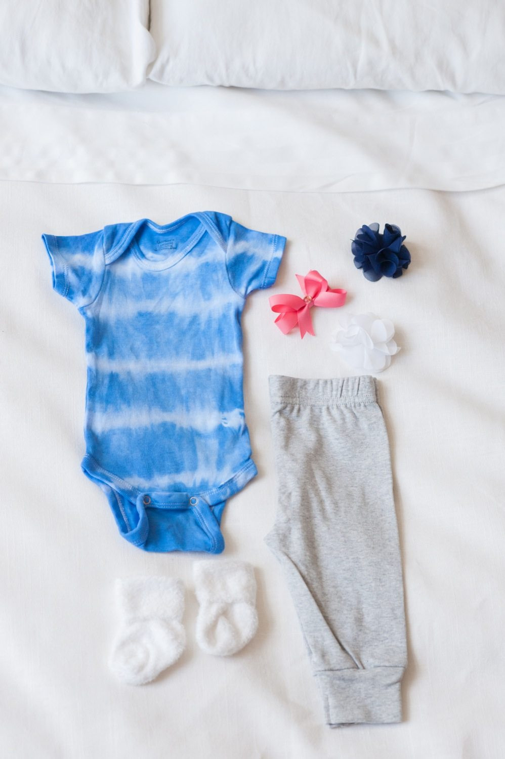 Best ideas about DIY Baby Onesie . Save or Pin DIY Shibori esies The Sweetest Occasion Now.