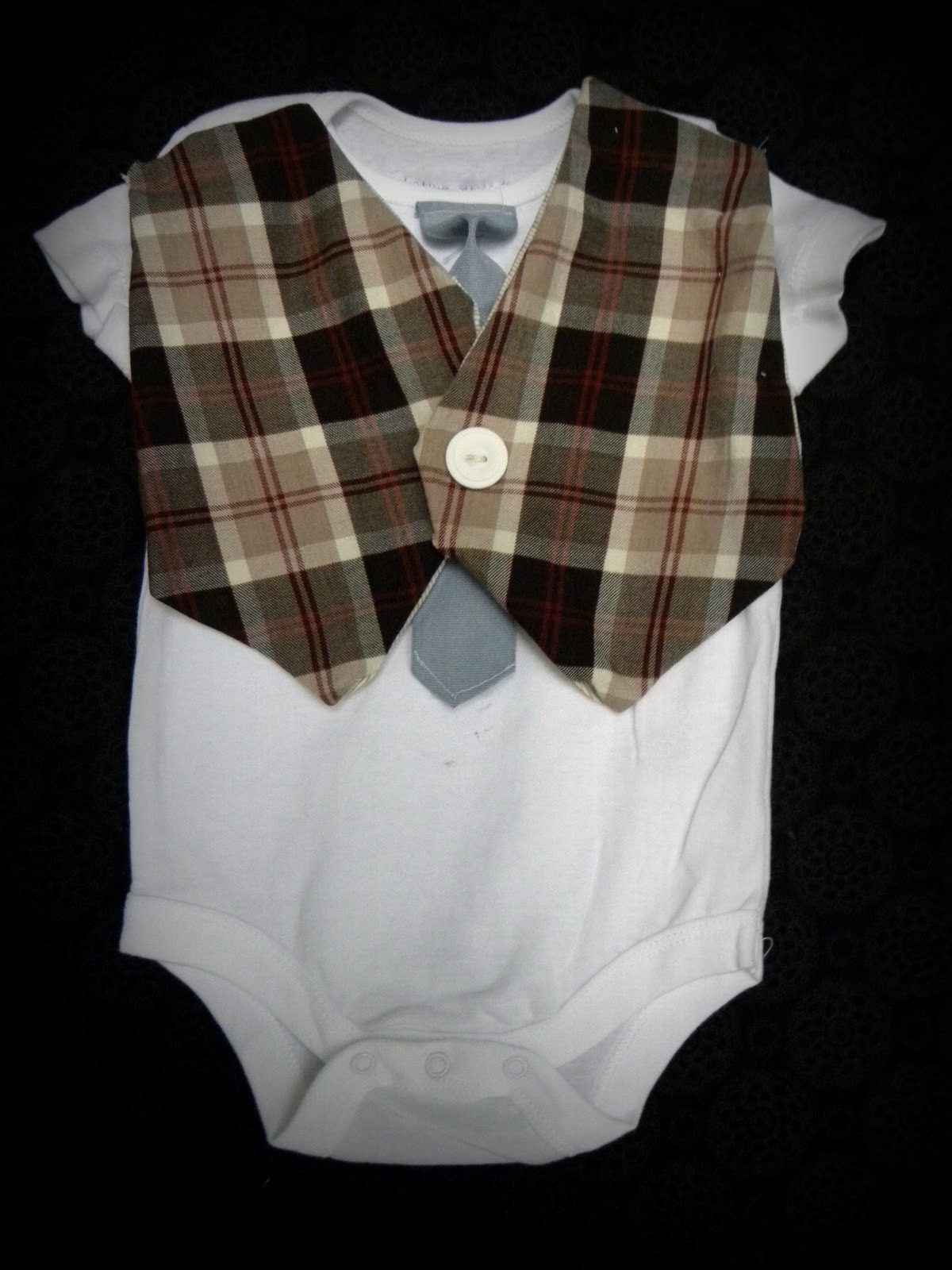 Best ideas about DIY Baby Onesie . Save or Pin Crafting Made Simple DIY baby onesie vest Now.