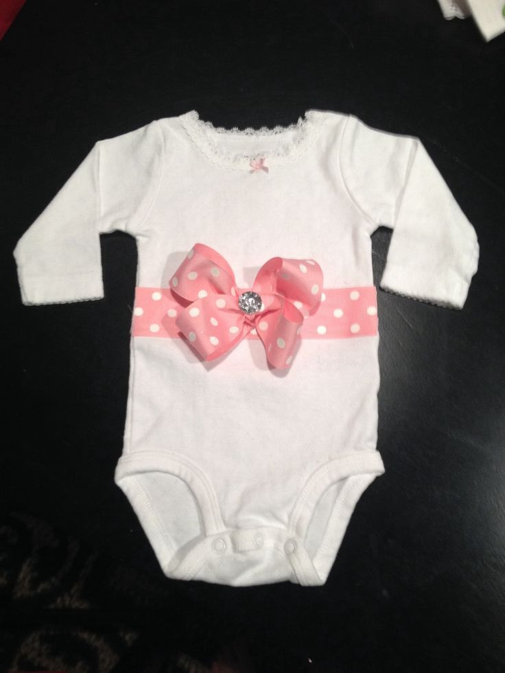 Best ideas about DIY Baby Onesies . Save or Pin diy onesie ideas DIY onesie for my princess Now.