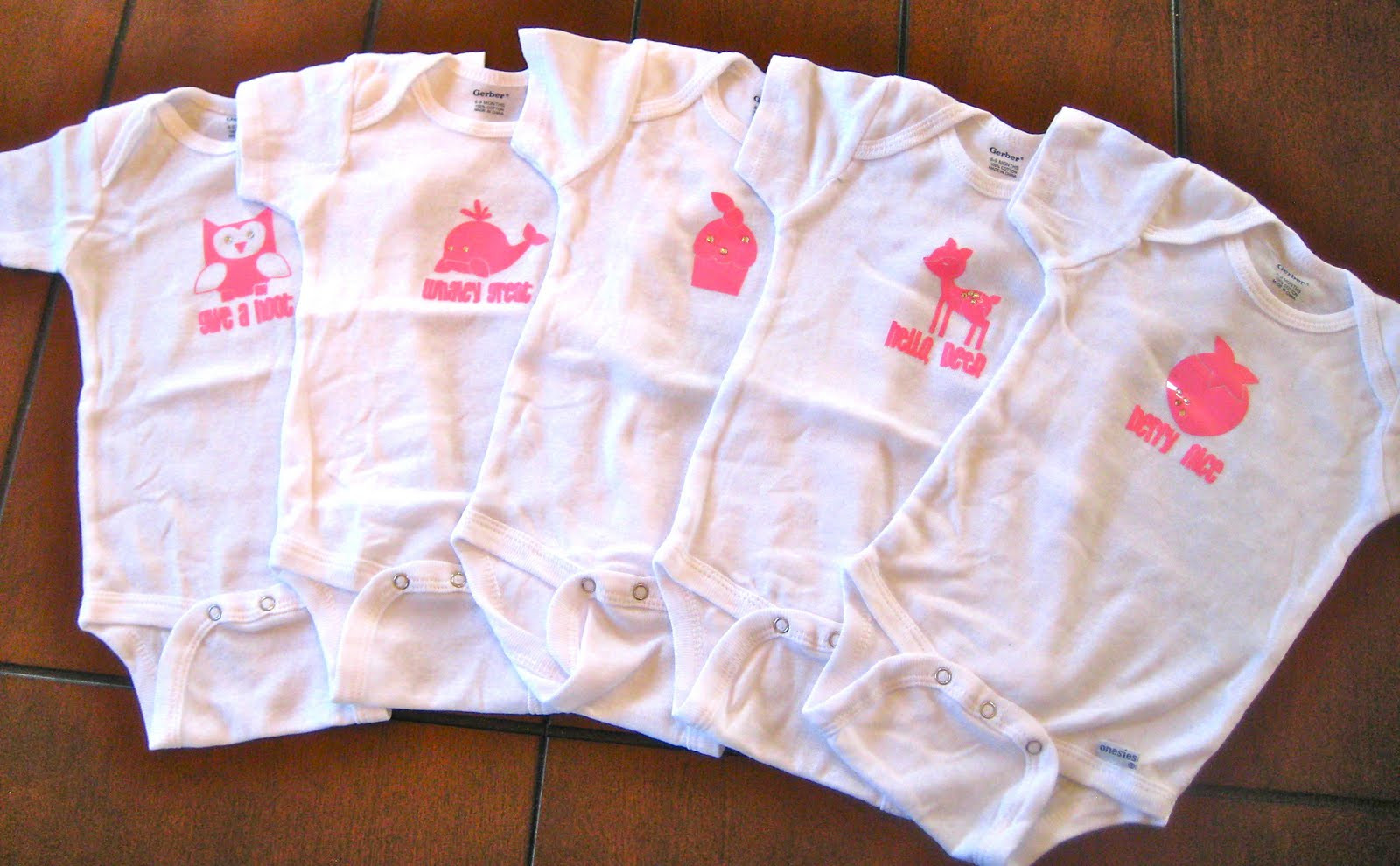 Best ideas about DIY Baby Onesies . Save or Pin Scrap Making EAD Blog Hop DIY Baby esies Now.