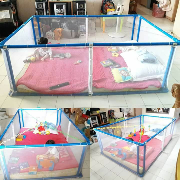 Best ideas about DIY Baby Playpen . Save or Pin LOOK A Momma s How to Make a 1 000 Peso DIY Playpen Now.