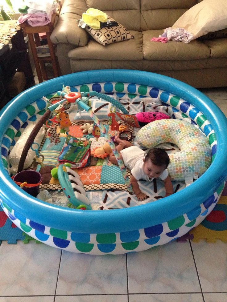 Best ideas about DIY Baby Playpen . Save or Pin DIY Playpen Here is a creative waay to secure your babies Now.