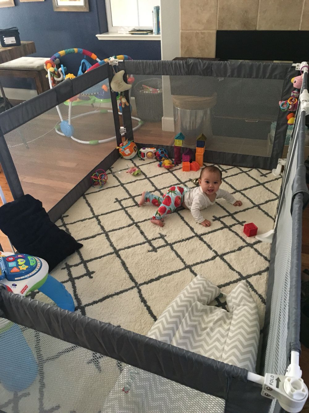 Best ideas about DIY Baby Playpen . Save or Pin The ultimate playpen play yard baby gate living room Now.
