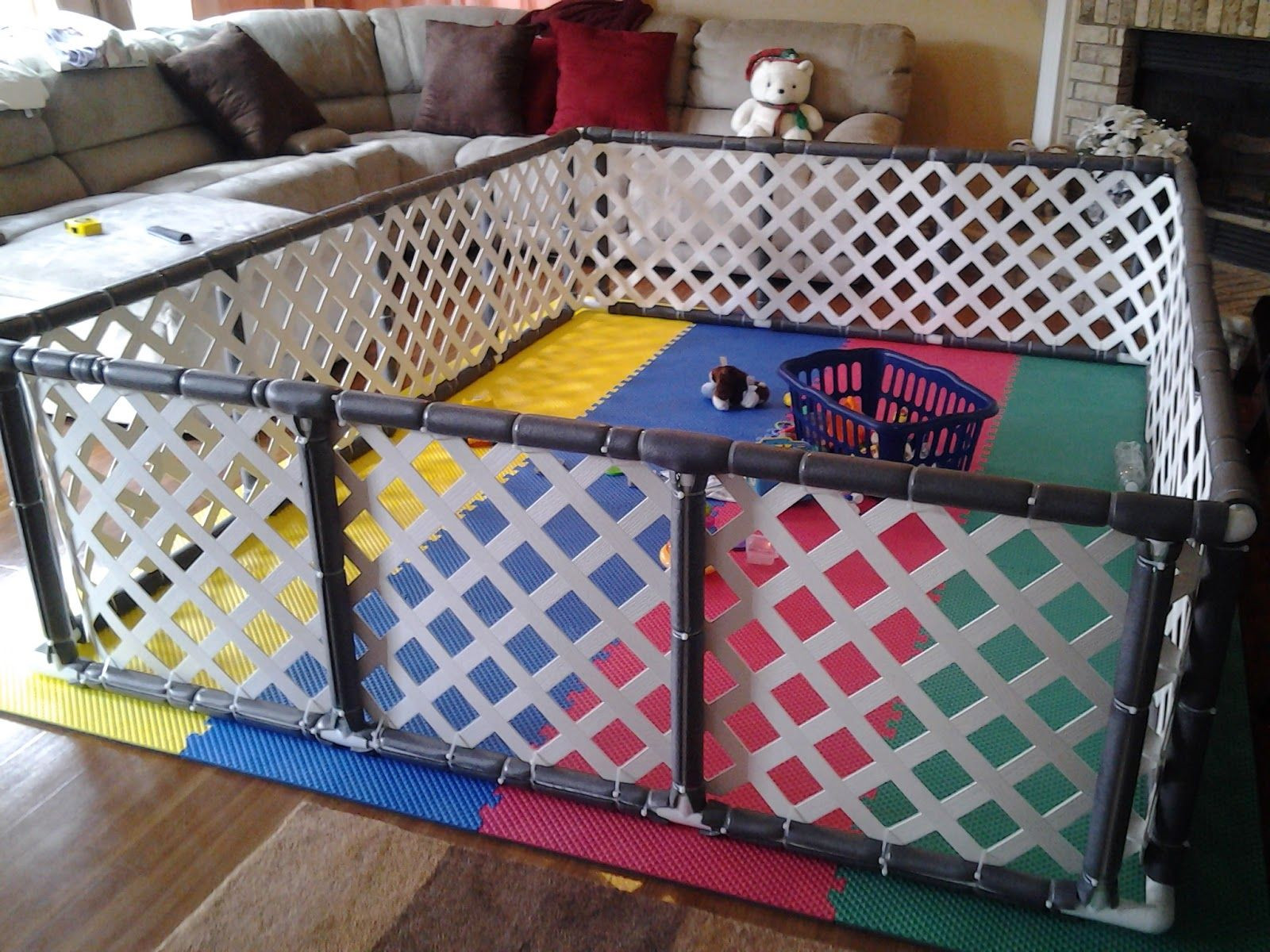 Best ideas about DIY Baby Playpen . Save or Pin I could have titled this post many things Finishing the Now.