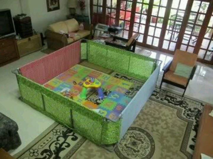 Best ideas about DIY Baby Playpen . Save or Pin Diy pvc pipe and fabric playpen Now.