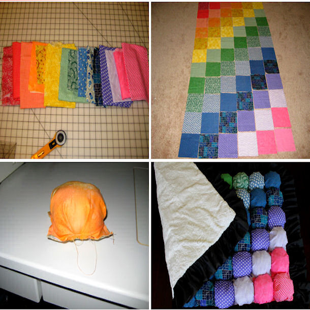 Best ideas about DIY Baby Puffs . Save or Pin DIY Baby Puff Blanket Now.