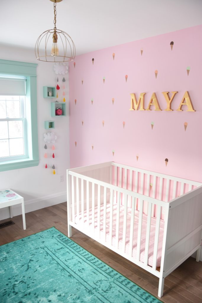 Best ideas about DIY Baby Rooms Ideas . Save or Pin How To Paint A DIY Nursery Mountain Mural No Art Skills Now.