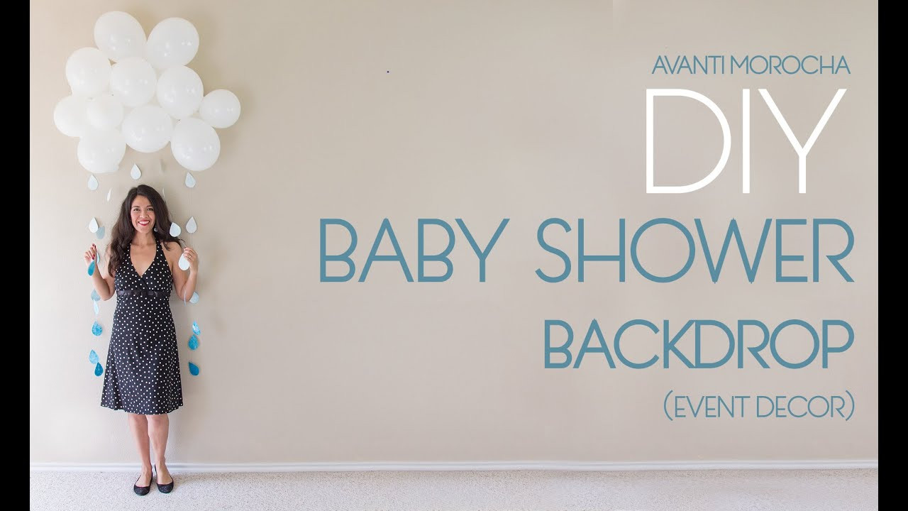 Best ideas about DIY Baby Shower Backdrop . Save or Pin DIY Baby Shower Backdrop Now.
