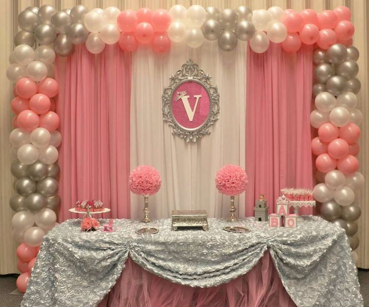 Best ideas about DIY Baby Shower Backdrop . Save or Pin Princess Baby Shower Party Ideas Now.