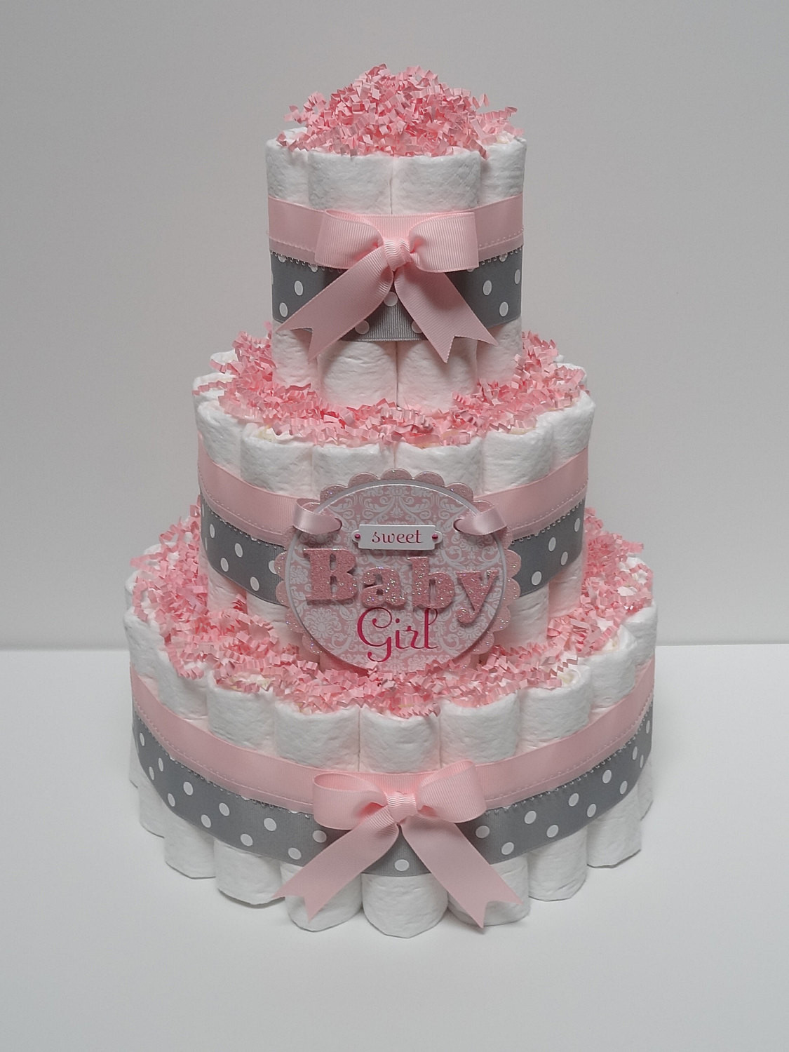 Best ideas about DIY Baby Shower Cakes . Save or Pin DIY Diaper Cakes For Baby Showers Now.
