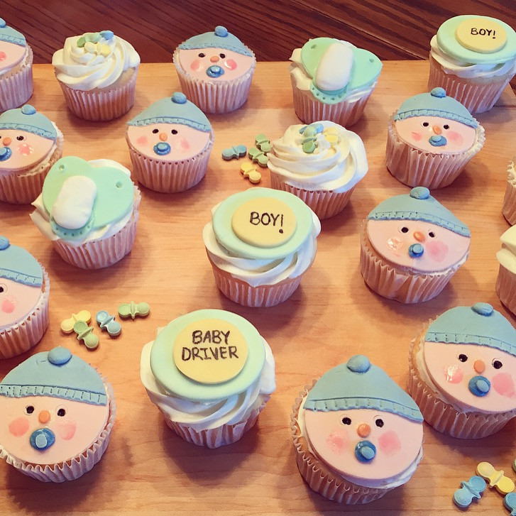 Best ideas about DIY Baby Shower Cakes . Save or Pin OH BOY DIY Baby Shower Cake Cupcakes Now.