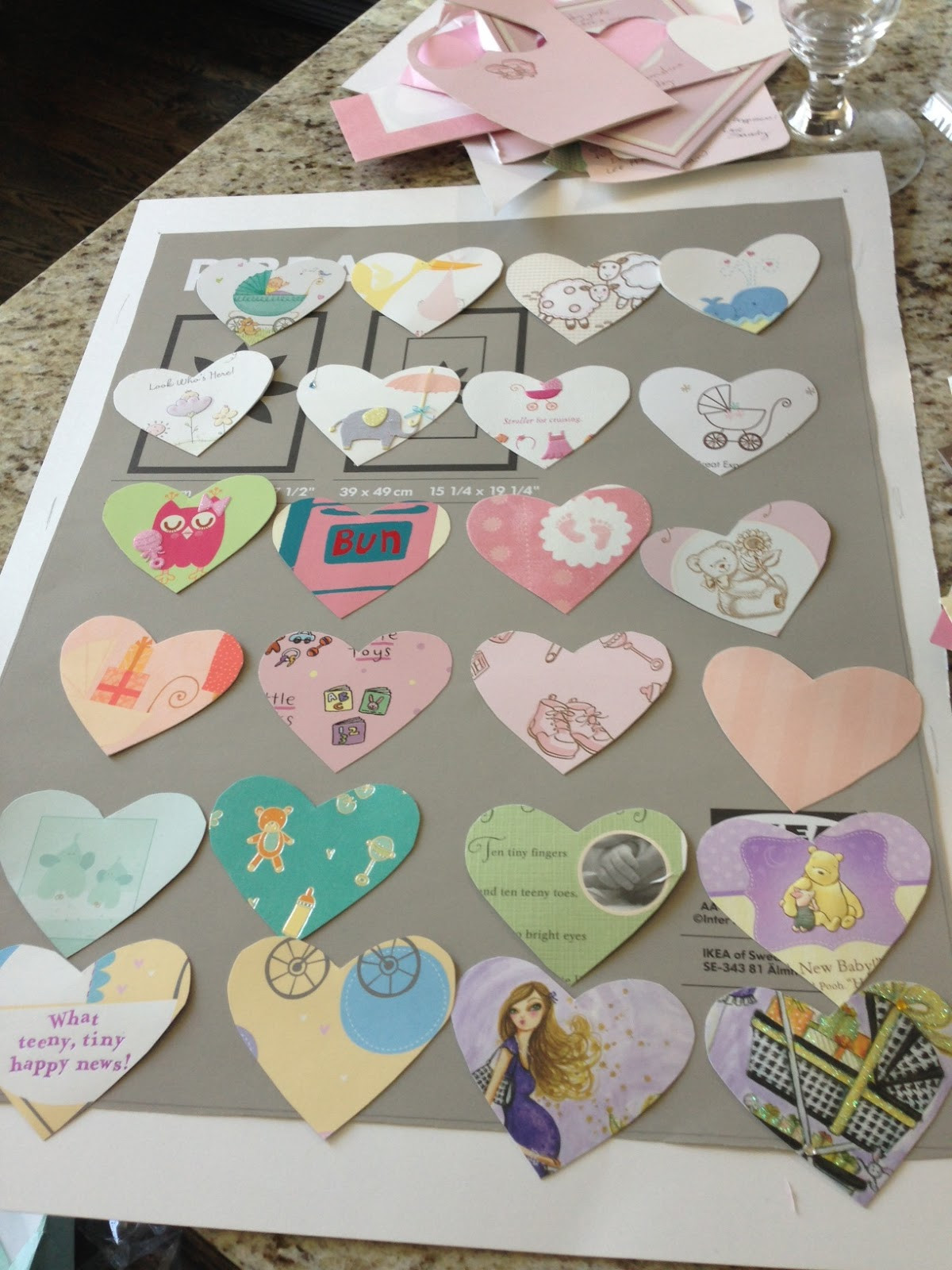 Best ideas about DIY Baby Shower Card . Save or Pin DIY Transform Your Baby Shower Cards into Nursery Art Now.